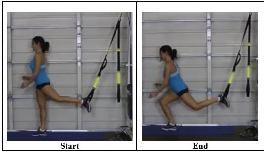 4 Lunge Position