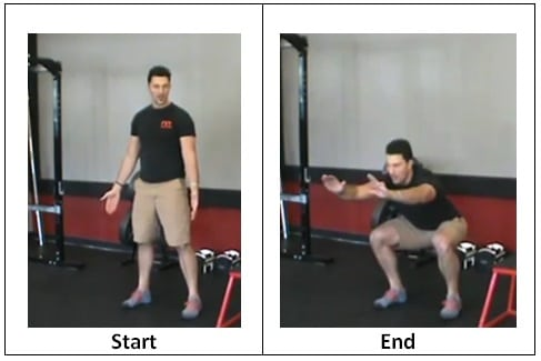 Normal Body Weight Squat