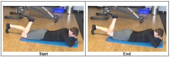 Prone Hip Extension 1