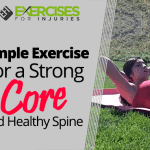 Simple Exercise For a Strong Core and Healthy Spine