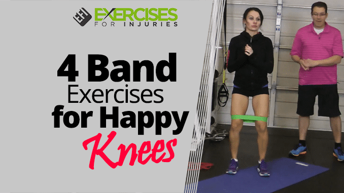 4 Band Exercises for Happy Knees