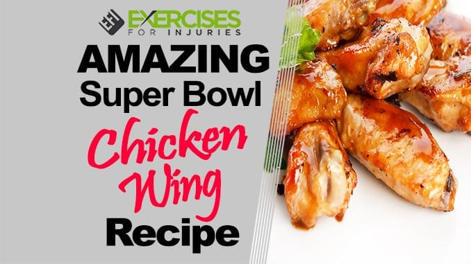 AMAZING Super Bowl Chicken Wing Recipe