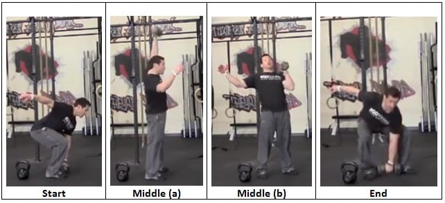 Single Arm Snatch with Dumbbell