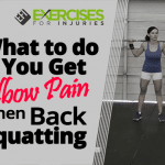 What to do if You Get Elbow Pain when Back Squatting