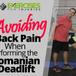 Avoiding Back Pain When Performing the Romanian Deadlift