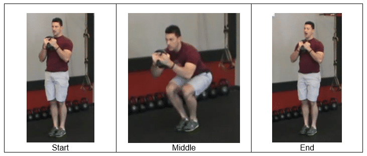 Closed Stand Squats
