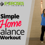Simple Home Balance Workout
