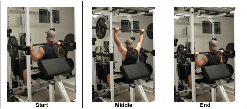 Barbell Power Shoulder Press