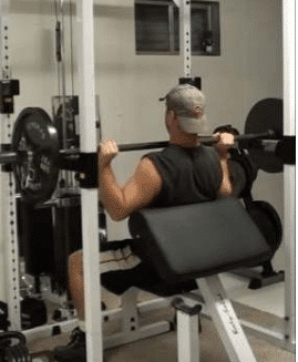 Barbell Power Shoulder Press Step 4