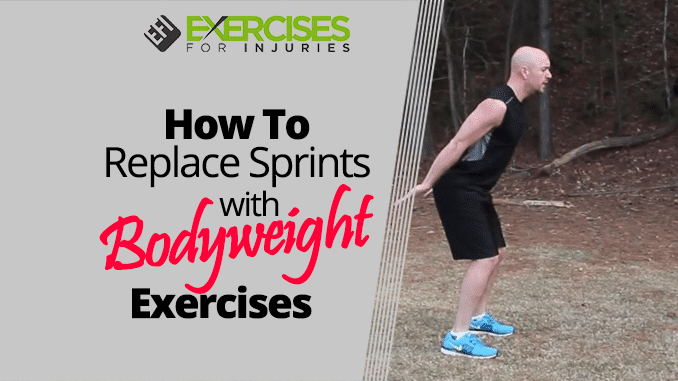 How to Replace Sprints with Bodyweight Exercises