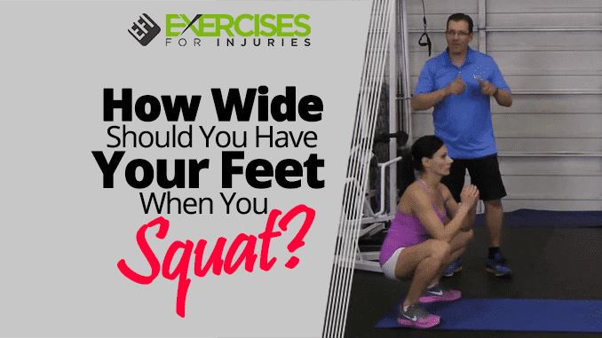 How Wide Should You Have Your Feet When You Squat