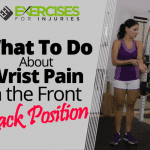What To Do About Wrist Pain in the Front Rack Position