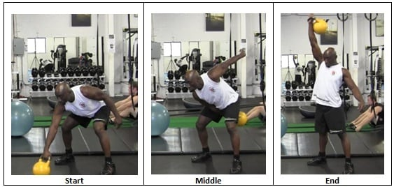 8 Snatches (Right Arm)