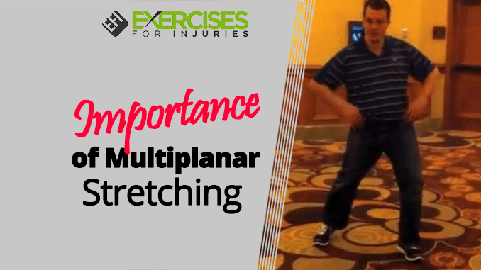 Importance of Multiplanar Stretching