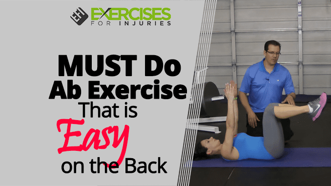 MUST Do Ab Exercise That is Easy on the Back