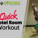 Quick Hotel Room Workout