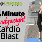 4 Minute Bodyweight Cardio Blast