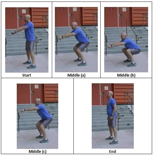Triple Stop Bodyweight Squat