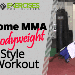Home MMA Bodyweight Style Workout