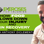 How Food Slows Down Your Injury and Pain Recovery with Anthony DiClementi (Part 1)