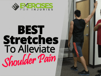 BEST Stretches To Alleviate Shoulder Pain