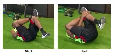 Glute Muscle Deep Stretch