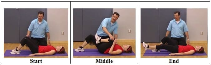 Knee Range of Motion Exercise