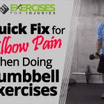 Quick Fix for Elbow Pain When Doing Dumbbell Exercises