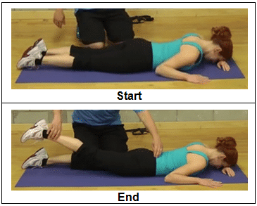 How to do Prone Hip Extension