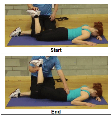 Prone Hip Extension Progression