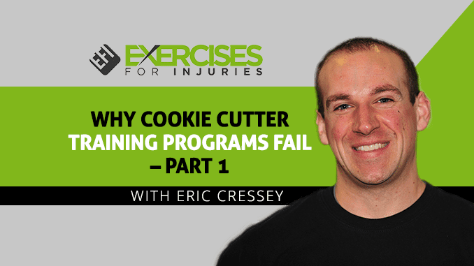 Why Cookie Cutter Training Programs Fail – Part 1
