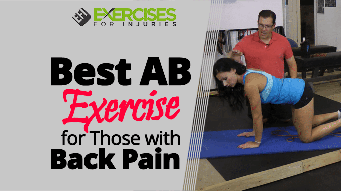 Best AB Exercise for Those with Back Pain