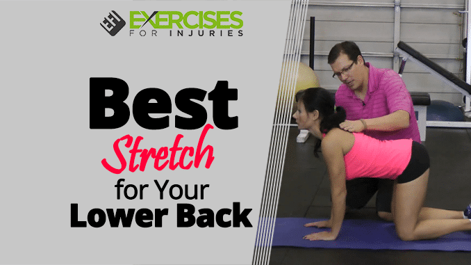Best Stretch for Your Lower Back