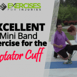 EXCELLENT Mini Band Exercise for the Rotator Cuff