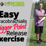 Easy Coracobrachialis Trigger Point Release Exercise