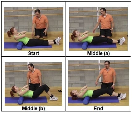Foam Rolling the Thoracic Spine Exercise
