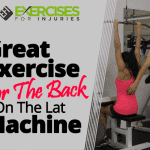 GREAT Exercise For The Back On The Lat Machine