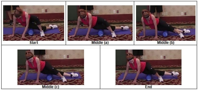 IT Band Foam Rolling Exercise