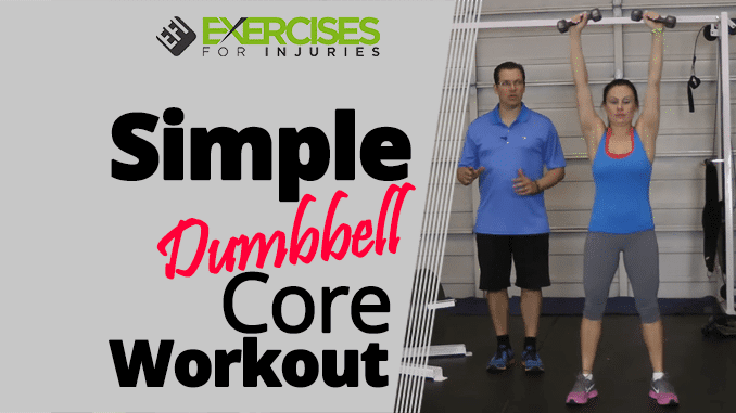 Simple Dumbbell Core Workout