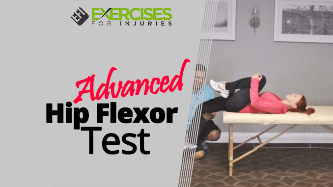 Advanced Hip Flexor Test