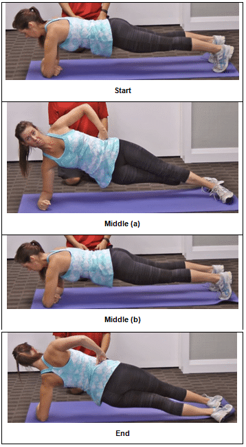 Front and Side Plank