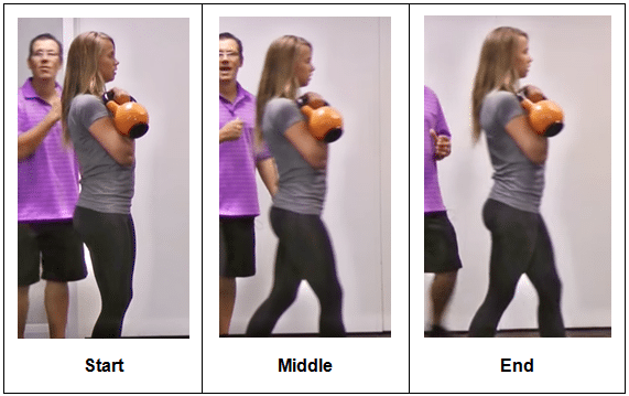 Kettlebell exercise for rotator cuff