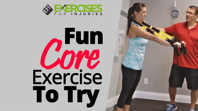 Fun Core Exercise To Try