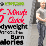 6-Minute Quick Bodyweight Workout to Burn Calories