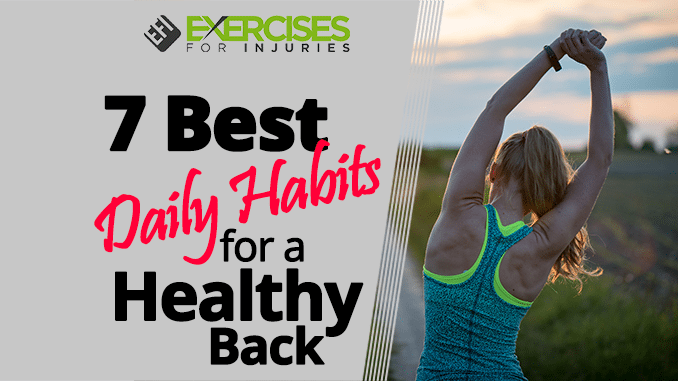 7 Best Daily Habits for a Healthy Back DVD