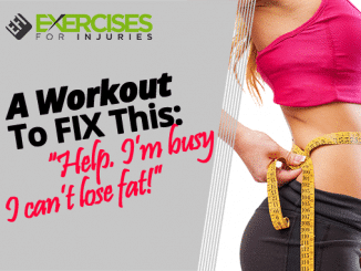 """A Workout To FIX This- """"Help. I'm busy I can't lose fat!"""""""