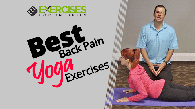 Best Back Pain Yoga Exercise