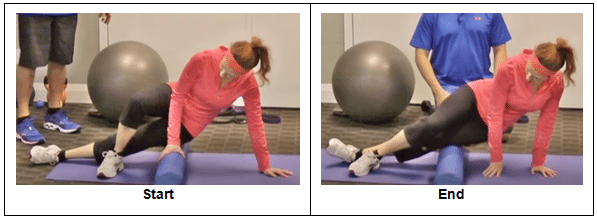 Foam Rolling the Outer Hip