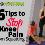 6 Tips to Stop Knee Pain from Squatting