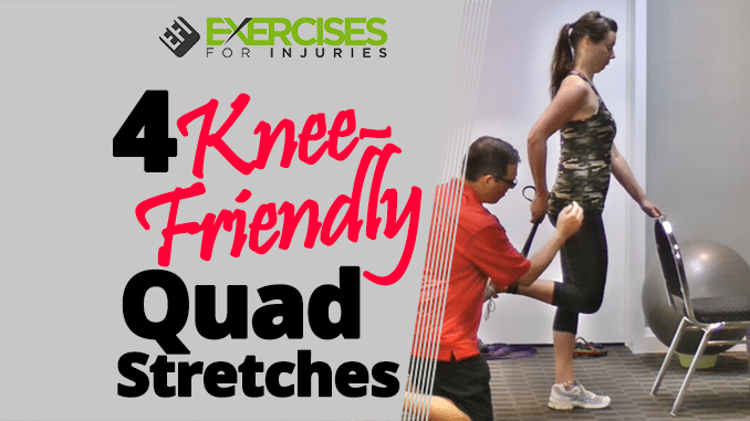 4 Knee-Friendly Quad Stretches